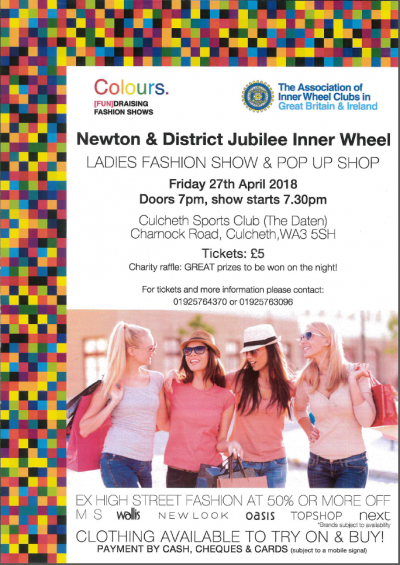 Colours Fundraising Fashion Shows