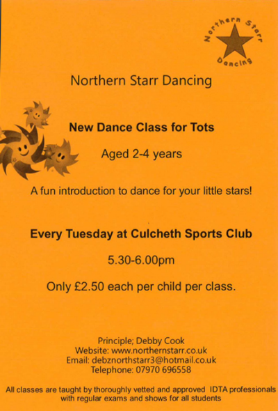 Dance Class for Tots